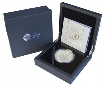2016 Silver Proof £10 90th Birthday 5oz
